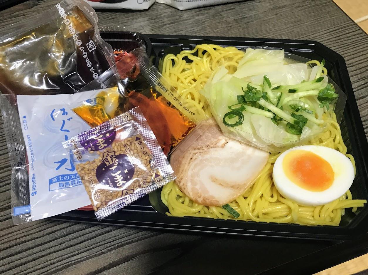 ローソン 広島風つけ麺