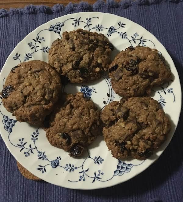 Chocolate, Cherry,  Oatmeal  & Pecan Cookies
