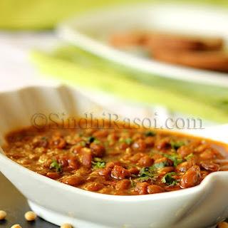 Soybean in Sindhi style gravy.