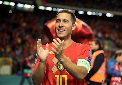 Eden Hazard kreeg stemmen voor beste speler ter wereld van Sergio Ramos, Joachim Löw en zeven anderen