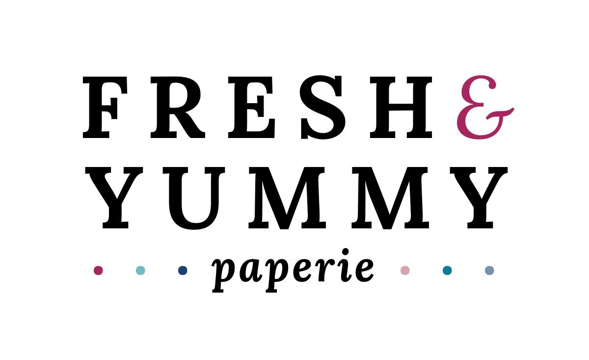 Fresh & Yummy Paperie Logo