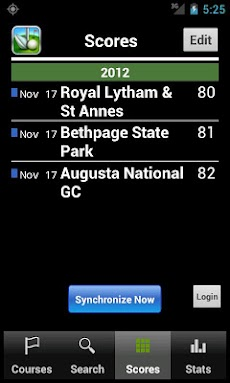 Skydroid - Golf GPS Scorecardのおすすめ画像4