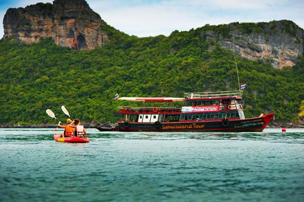 Samui Island Tour to Angthong Marine Park by Big Boat