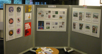 Photo: Display at Arnold library