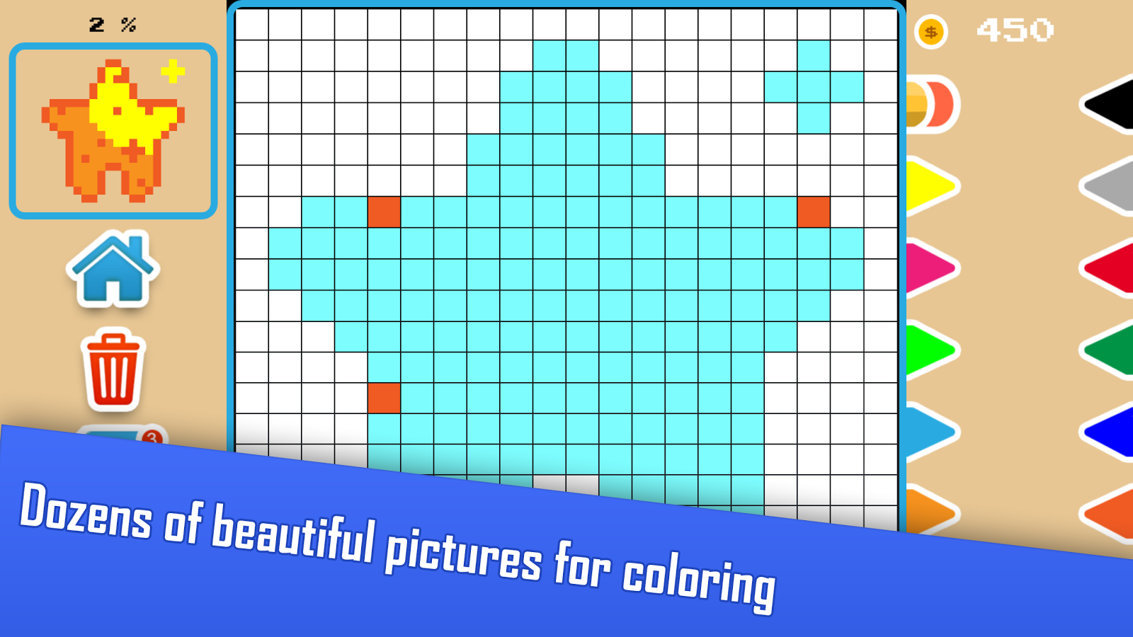 sticky pixels coloring book android apps on google play
