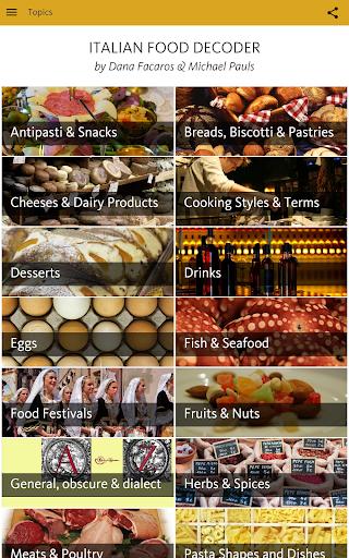 Italian Food Decoder screenshot 17