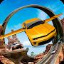 download Flying Car Stunts On Extreme Tracks apk