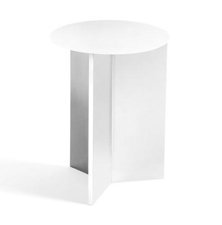 Slit table round high