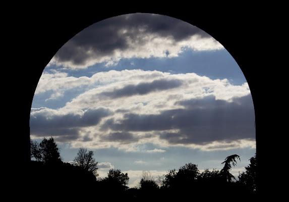 Luna di cielo diurno di fabiodalessio88