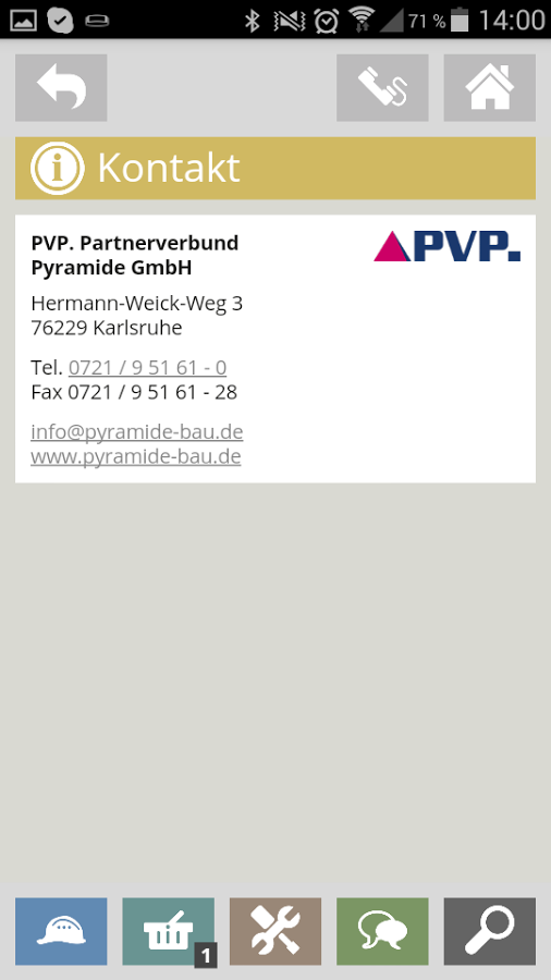 PVP · Partnerverbund Pyramide- screenshot