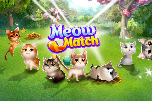 Meow Match: Cats Matching 3 Puzzle & Ball Blast apkpoly screenshots 3