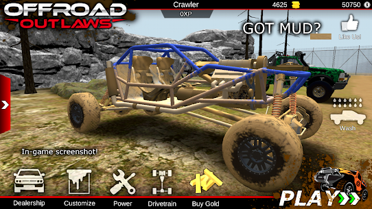 Offroad Outlaws MOD 2.0.1 (Unlimited Money) Apk 1