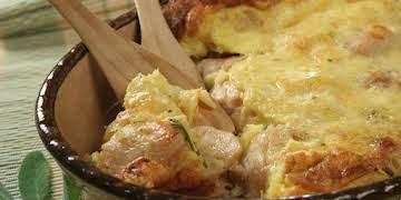 Mediterranean Chicken Pot Pie