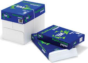 Kopieringspapper 80g Hålat 2500-ark