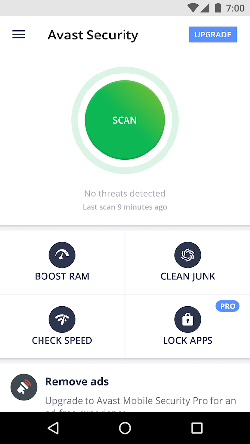 Avast Security & Booster – Screenshot