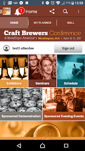 Craft Brewers Conference- screenshot thumbnail