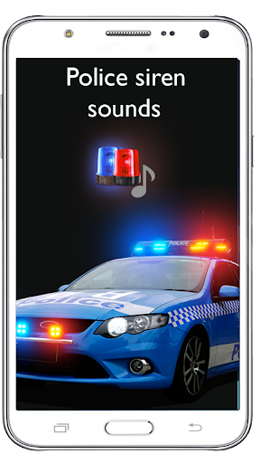 Loud Police Siren Sound - Police Siren Light 1.8 screenshots 1