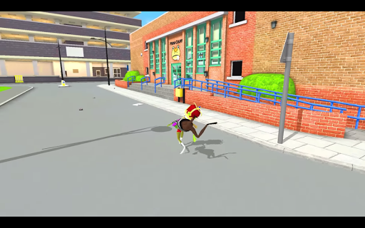 Amazing Frog Battle City Simulator 3D - screenshot