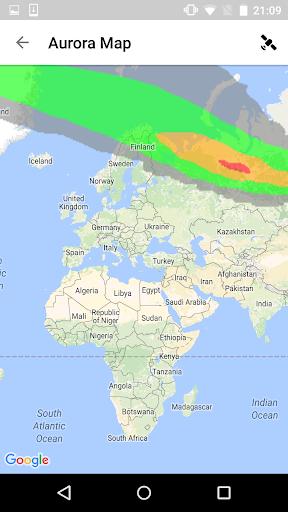 Aurora Alerts Northern Lights Screenshot