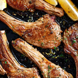Greek Lamb Chops.