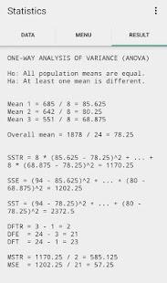 Statistics Study - náhled