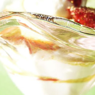 Simplistic Strawberry Ricotta Parfait