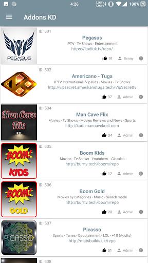 Addons KD 22.7 screenshots 1