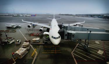 "Photo: ""First Class or Coach?"" or ""Money to burn""  Air France to Paris at San Francisco International  Edit: better title thanks to +Tim Aldridge  #Paris2011_RicardoLagos"