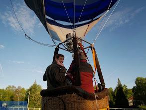 Photo: Bon voyage ! Décollage de montgolfière