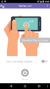 Tap2Lock - double tap screen lock - náhled