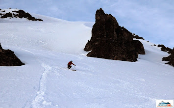 Photo: Matus is skiing down the Camel