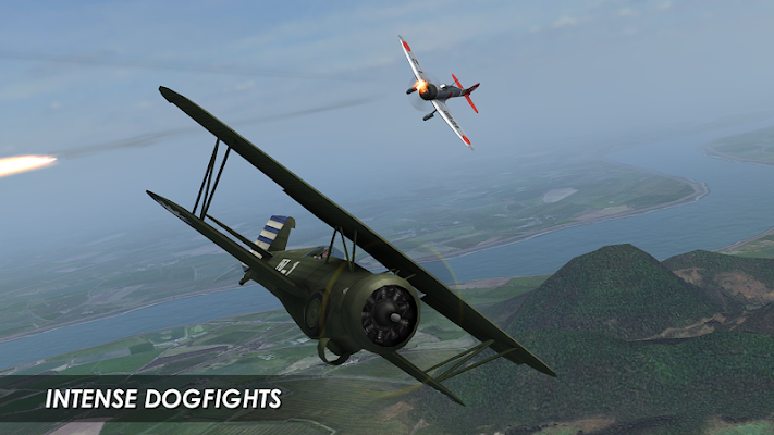 Wings of Steel Screenshot Image