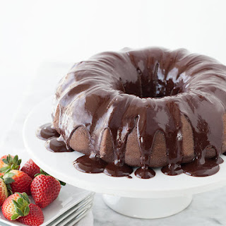 Devil's Food Bundt Cake with Chocolate Espresso Ganache