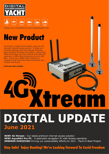Digital Yacht June News Update Now Available to Download