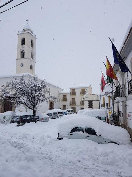 Iglesia de Bacares. / Foto: Ayto. Bacares