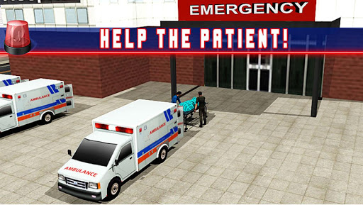 Ambulance Parking 3D Rescue