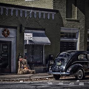 Weaver's Cut & Trim by Allie Small - Transportation Automobiles ( allie, shop, weavers, barber, cut, trim, small, photography )