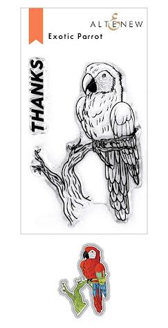 Altenew Stamp & Die Bundle - Exotic Parrot