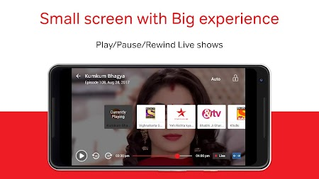 Airtel TV: Movies, TV series, Live TV APK screenshot thumbnail 7