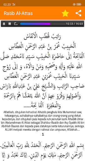 Ratib Al-Attas Lengkap - Terjemah & MP3 screenshot 7