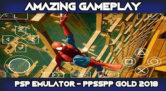 psp emulator - ppsspp gold 2018 - náhled
