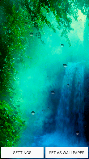瀑布 的动态壁纸
