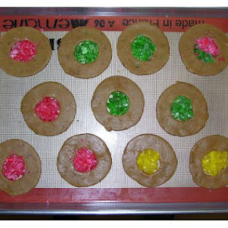 Baked Stained Glass Cookies