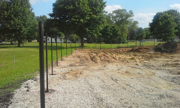 Photo: Right Field Fence 06-26-2014