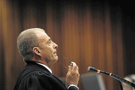 Gerrie Nel said that the alleged rape happened in the home of the victim's grandparents just over two years ago.