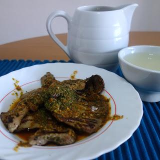 Higado de cordero al ajillo (Spanish Garlic Lamb's Liver)