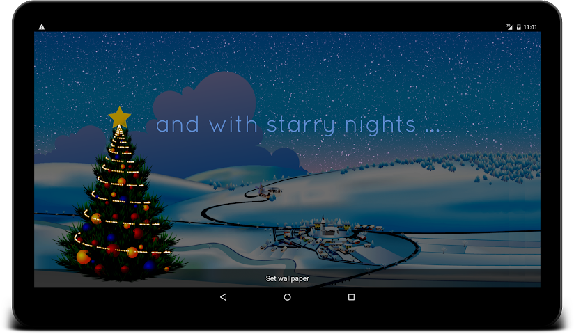 android Winter Live Wallpaper Screenshot 9