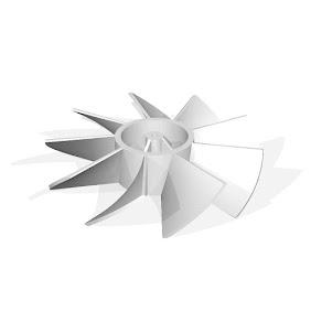 Ball Fan - Fan Blades