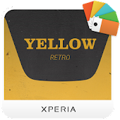 XPERIA™ Yellow Retro Theme