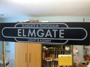 Photo: 001 Welcome to the Elmgate & Thatcham Light Railway !